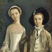 Image associated with         Heneage Lloyd and his sister, Lucy