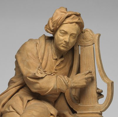 Image associated with         Portrait statuette of George Frideric Handel (1685-1759)